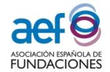 AEF - Associació Espanyola de Fundacions